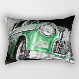 Green Car Rectangular Pillow