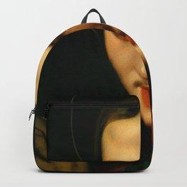 "Jean-Auguste-Dominique Ingres ""Head of Saint John the Evangelist"" Backpack"