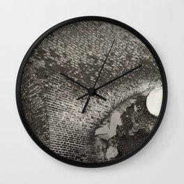 Vault in Retrospect Wall Clock