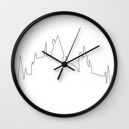Hogwarts Heartbeat Wall Clock