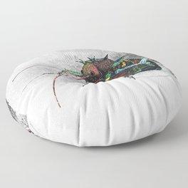 Frozen Beetle Floor Pillow