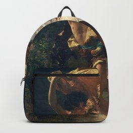 The Storm by Pierre-Auguste Cot 1880, French Backpack