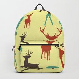 Deer Grandeur Pattern Backpack