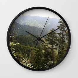 Mt. Leconte Wall Clock
