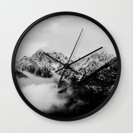 Canadian Rockies Wall Clock