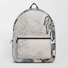 13 Reasons Why Hannah Baker Sheepish Artistic Illustration Zen Style Backpack