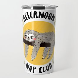 Afternoon Nap Club Sloth Travel Mug