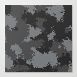 Camouflage urban 2 Canvas Print