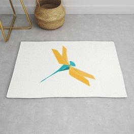 Origami Dragonfly Rug