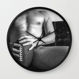 Quarterback  Wall Clock