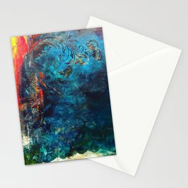 Flame of the Forest Stationery Cards