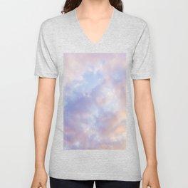 Pink sky / Photo of heavenly sky Unisex V-Neck