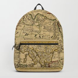 Map of Turkey, Arabia, and Persia (1721) Backpack