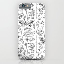 Witchcraft II [White] iPhone Case