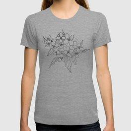 Jasmine line work T-shirt