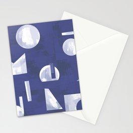 Moderno Cobalt Stationery Cards