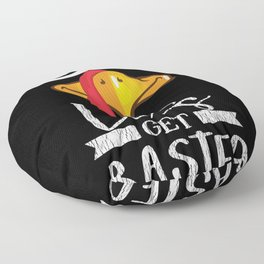 Let's Get Basted Turkey Family Thanksgiving Day Floor Pillow