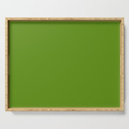 Green Apple Serving Tray
