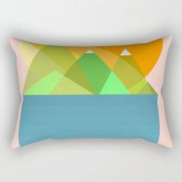 Sun mountains Rectangular Pillow