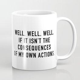 Consequences Kaffeebecher