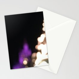 Castle at Night's Light Stationery Cards