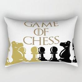 Juguemos ajedrez Rectangular Pillow