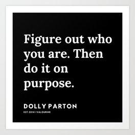 31   | 191120 | Dolly Parton Quotes Art Print