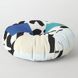 Burros de colores Floor Pillow