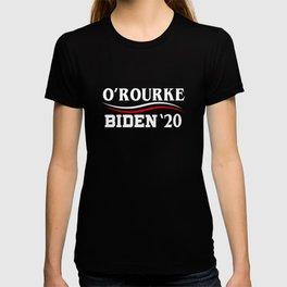 Beto O'Rourke & Joe Biden 2020 President Election Campaign T-shirt