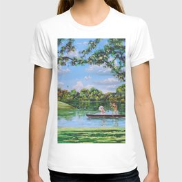 Mary Poppins in the park T-shirt