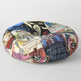 Agatha Christie Floor Pillow