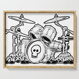 Drum Set Cartoon Serving Tray