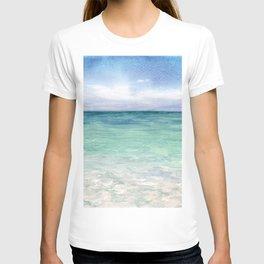 Watercolor Sea Landscape T-shirt