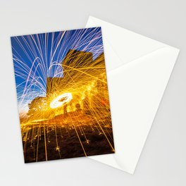 Guildford night photography workshop Stationery Cards