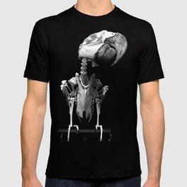 Hyacinth Macaw Skeleton T-shirt