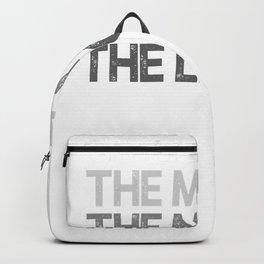 Mens Grandaddy Shirt Gift The Man The Myth The Legend T-Shirt Backpack