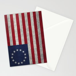 Betsy Ross Flag Stationery Cards