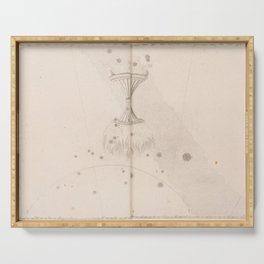 Johann Bayer - Uranometria / Measuring the Heavens (1661) - 45 Ara / Altar Serving Tray