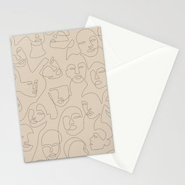 She's Beige Stationery Cards
