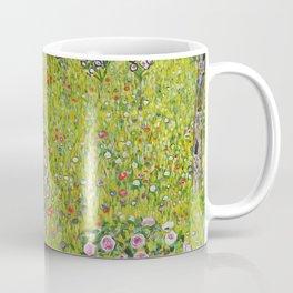 """Gustav Klimt """"Orchard with Roses (Obstgarten mit Rosen)"""" Coffee Mug"""