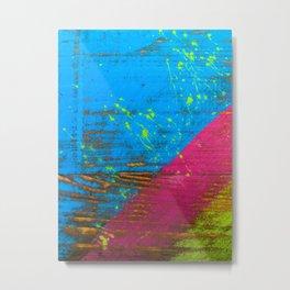 Worn paint Metal Print