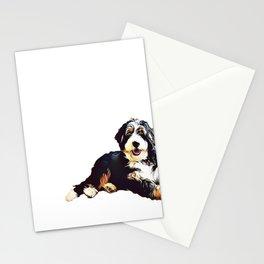 Bernedoodle  Stationery Cards