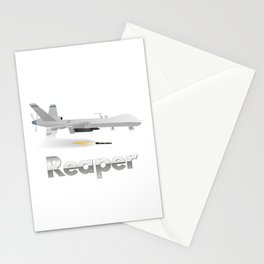 Reaper Military UAV Stationery Cards