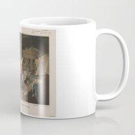 President Lincoln, writing the Proclamation of Freedom (January 1st, 1863) Coffee Mug