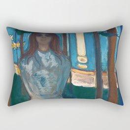 Edvard Munch - Summer Night. The Voice Rectangular Pillow