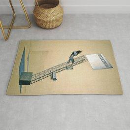 Lenin Tribune - El Lissitzky Rug