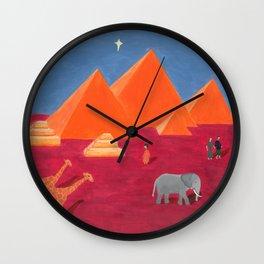 Evening in Cairo Wall Clock