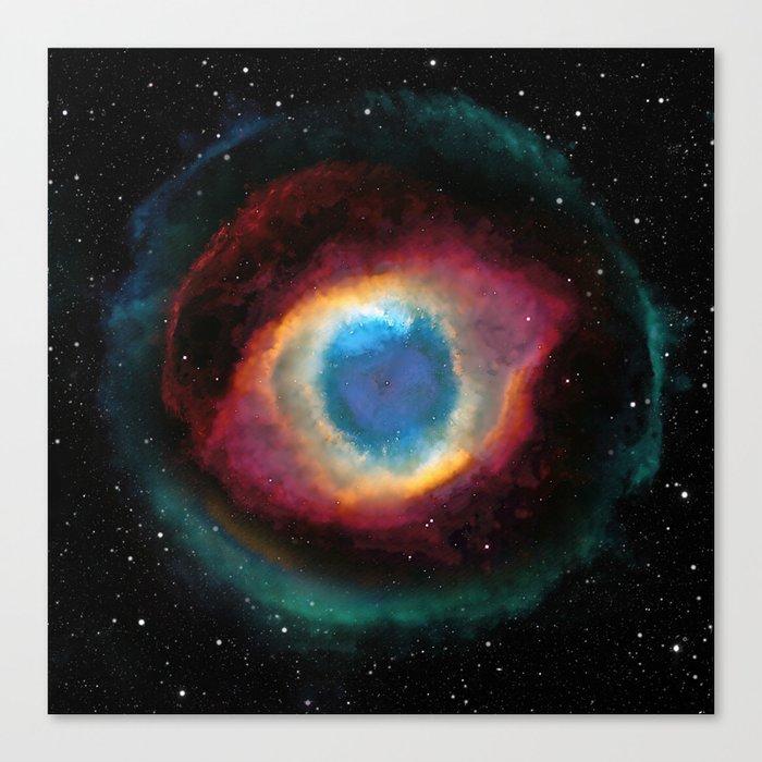 Helix (Eye of God) Nebula Canvas Print
