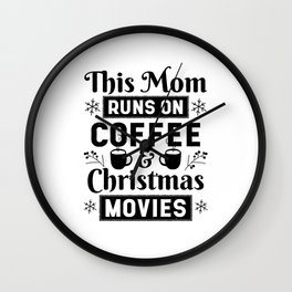 Christmas Gift ideas for Mom Wall Clock