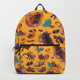 Ants - yellow Backpack
